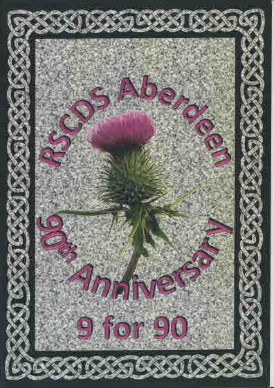 RSCDS Aberdeen 90th Anniversary: 9 for 90