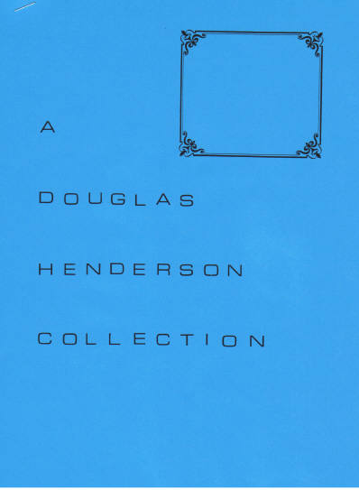 A Douglas Henderson Collection