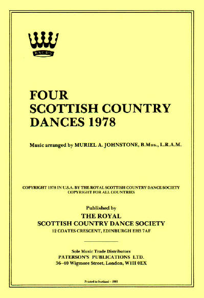 RSCDS 4 Dances for '78