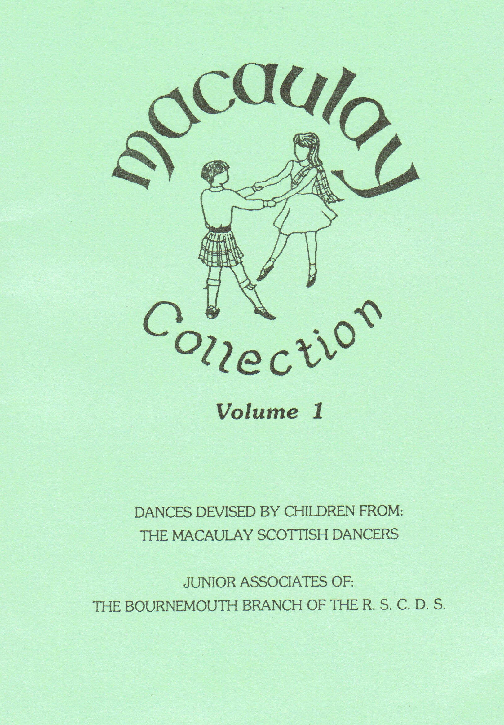 Macaulay Collection Volume 1