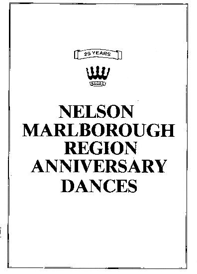Nelson Marlborough Anniversary Dances