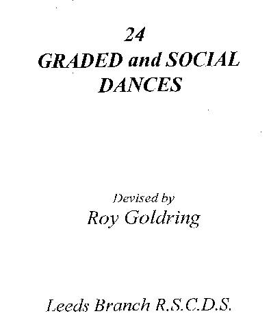 Graded and Social Dances 1