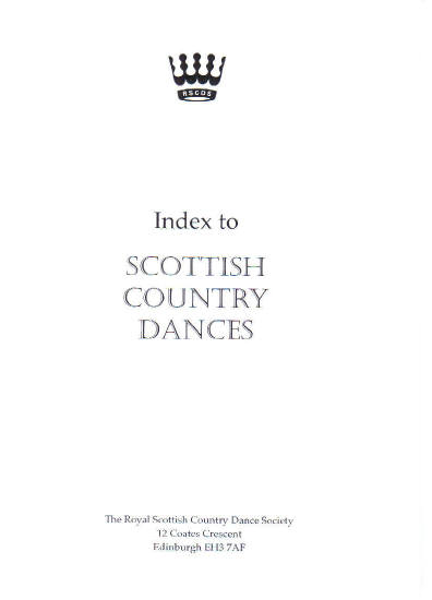 Index to S.C. Dances