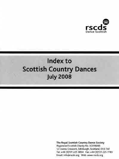 Index to S.C. Dances - A5
