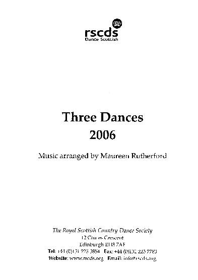 Three Dances 2006